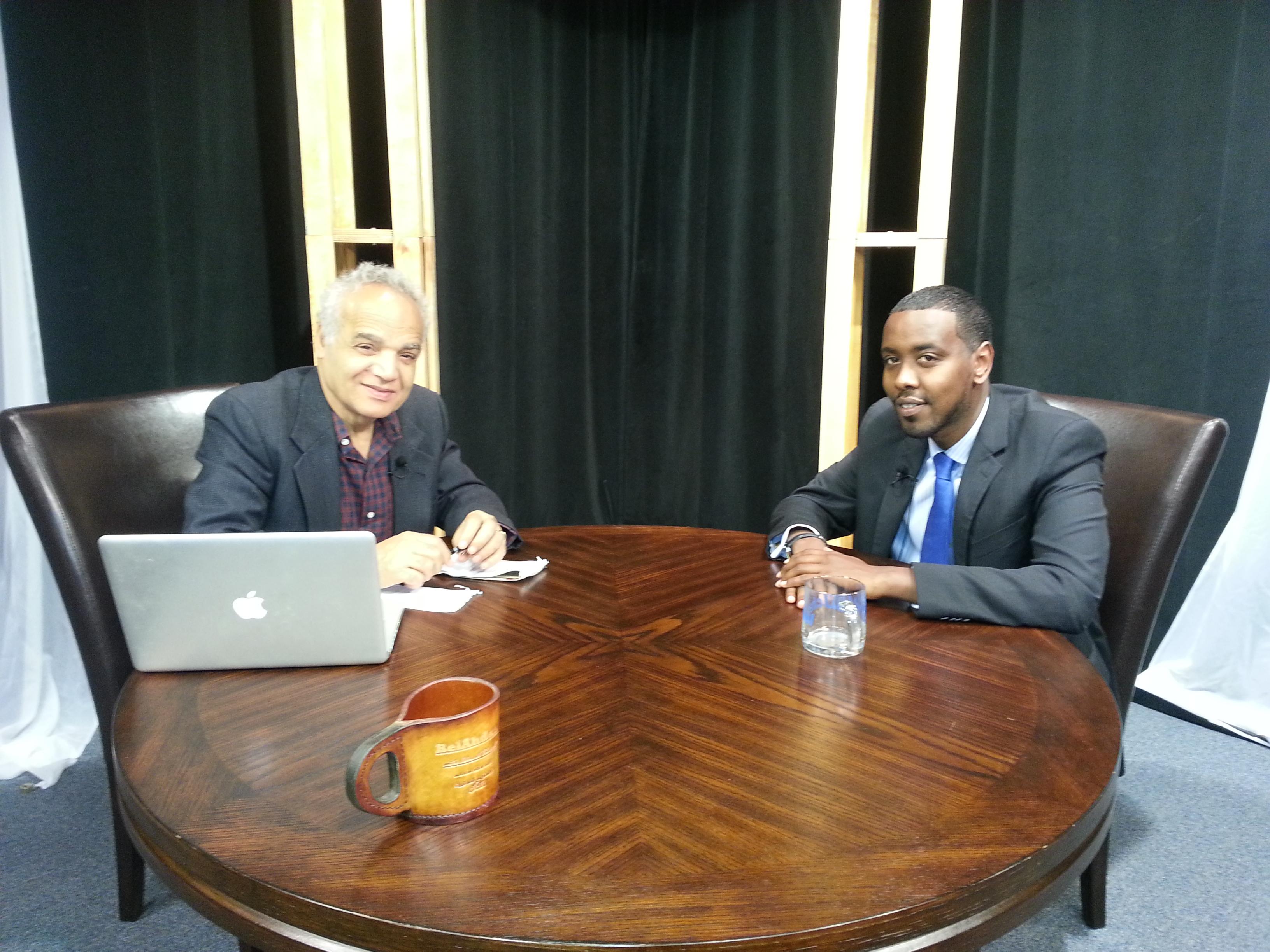 BelAhdan with Abdi Warsame, Somali political clout