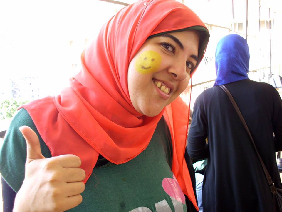 An Egyptian on a mission to draw a smile on every child's face