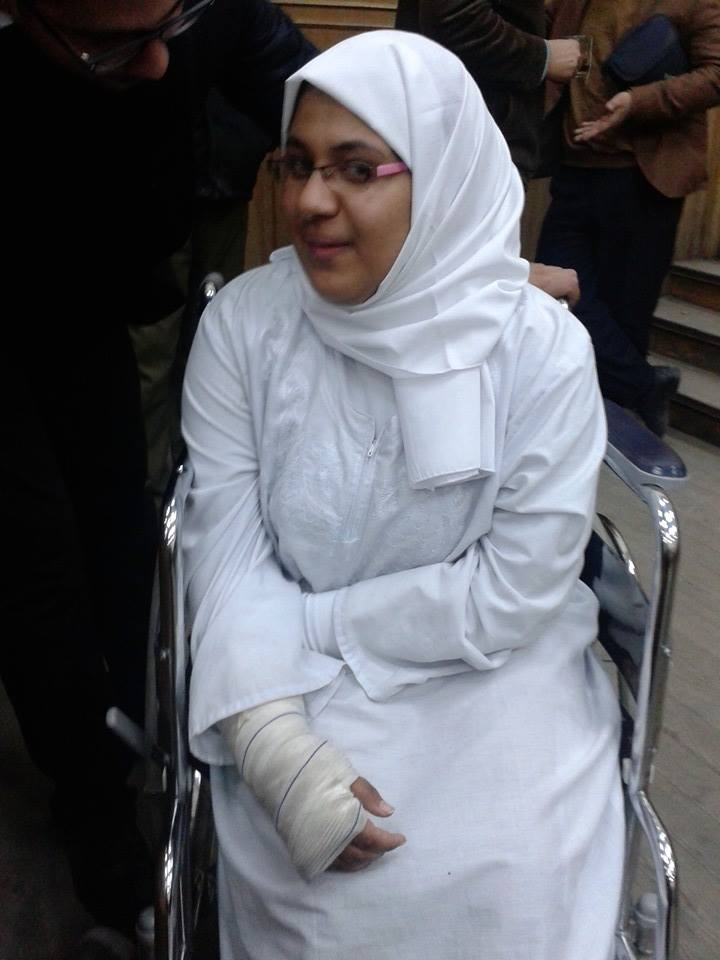 The story of a young woman who was detained and tortured in Egyptian Prison..