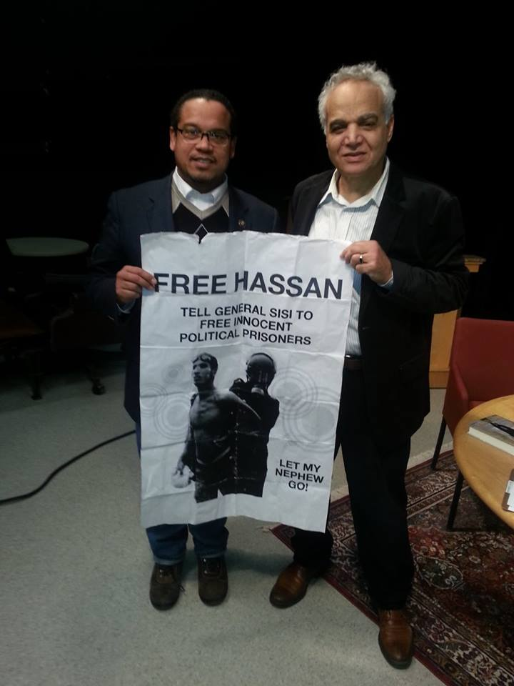Egyptian Held Prisoner, No Charge Since Morsi Overthrown, World View With Denis Campbell