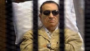 Mubarak asleep
