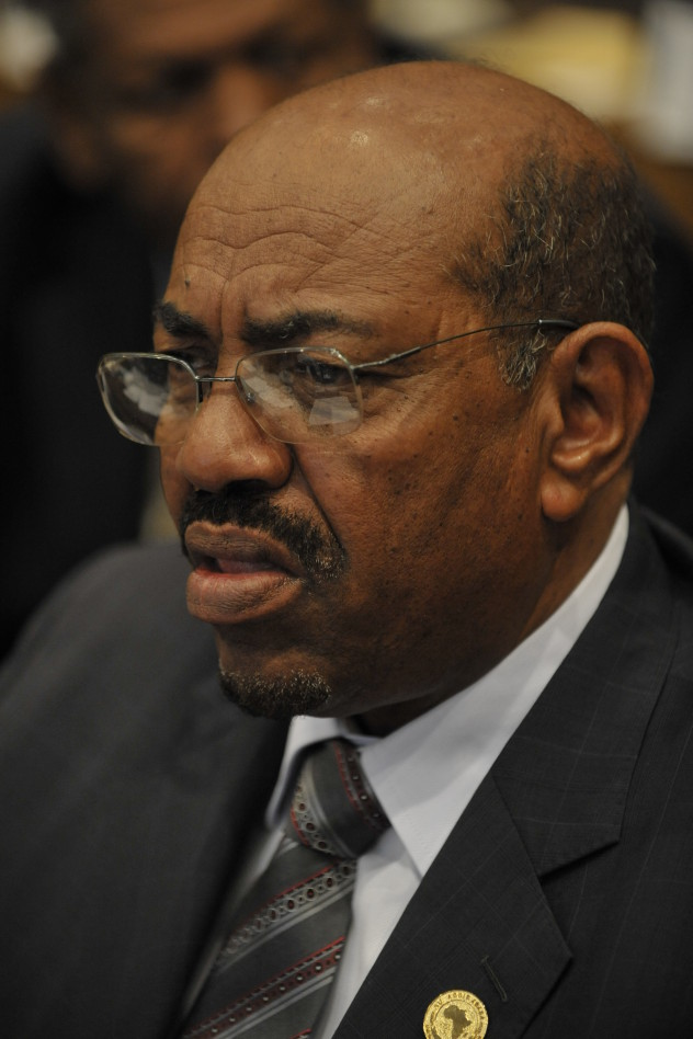 Omar Hassan Ahmad al-Bashir, president of Sudan, sits in the Plenary Hall of the United Nations Conference Centre in Addis Ababa, Ethiopia, during the 12th African Union Summit Feb. 2, 2009. The assembly endorsed the communique, issued by the Peace and Security Council of the African Union, to defer the process initiated by the International Criminal Court to indict Bashir. (U.S. Navy photo by Mass Communication Specialist 2nd Class Jesse B. Awalt/Released)
