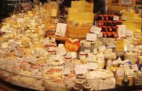 Cheese supermarket