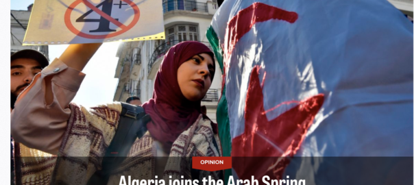 Arab Spring Finally In Algeria, Commentary