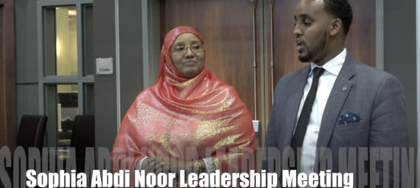 First Somali Woman Elected to Kenyan Parliament… Talked to Somali American Leaders!