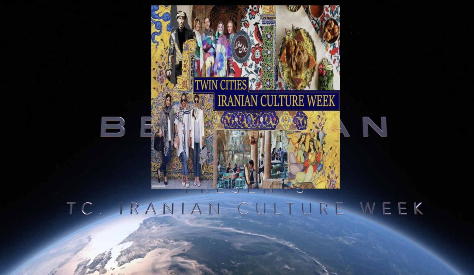 Twin Cities, Iranian Culture Week, Music, Arts, and Friends
