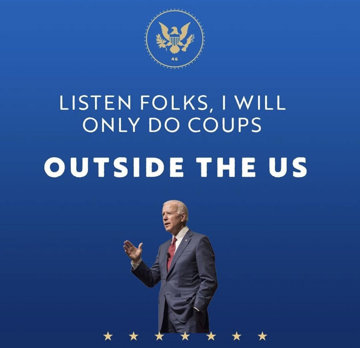 Biden about Coup
