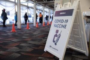 Covide Vaccine Lane