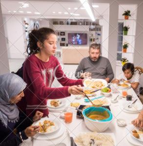 Ramadan family Iftar