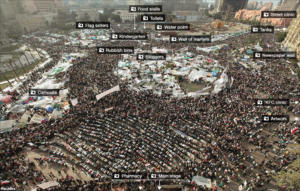 Tahrir protest