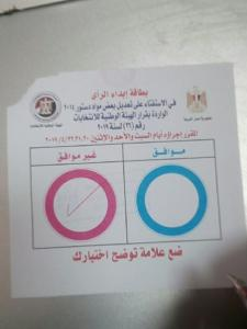 election ballot no