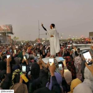 election uprising in Sudan