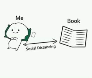 me and book