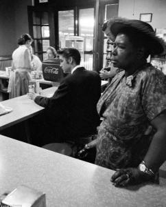 Alvis ordering sitting down