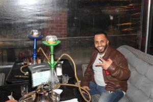 Arab American hookah bar mee