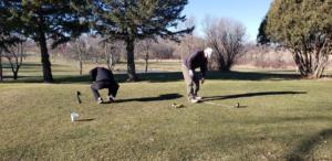Golfing drill 2